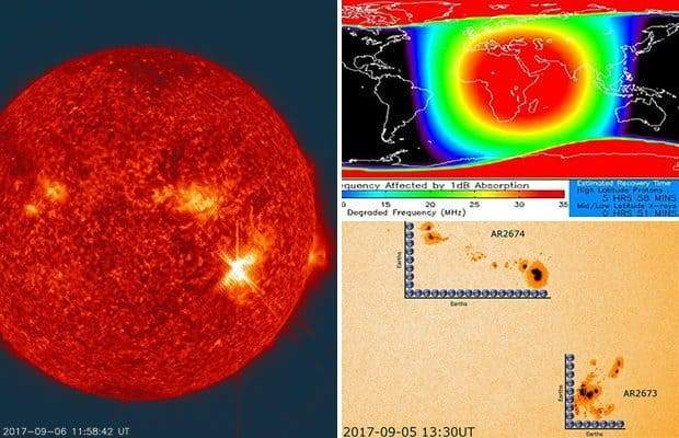 Мощнейшая за 12 лет вспышка на Солнце