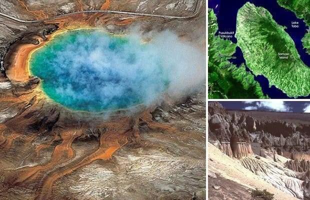 Вулканы, реальная угроза человечеству
