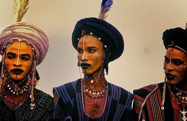 Пикантный конкурс красоты в Африке