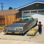 Взрослая и детская машины