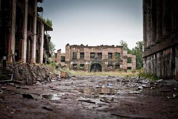 Ранее населённые пункты, сейчас города-призраки