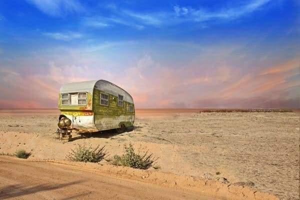 Посёлок в американской пустыне