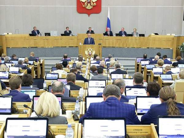 Госдума приняла пенсионный проект Путина