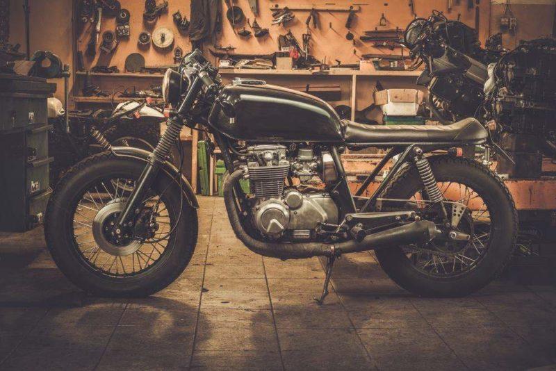 Мотоцикл уникальный транспорт