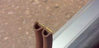 Как выбрать уплотнитель для металлической двери