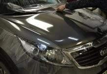 Использование защитной плёнки на капот автомобиля