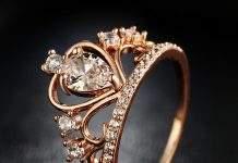 Золотые кольца, как нестареющие украшения