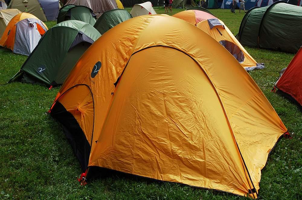 Виды туристических палаток