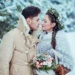 Варианты проведения свадьбы зимой