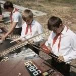 Популярное хобби советских пионеров